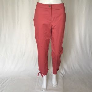 CHAUS WOMAN PANTS SIZE 6 PINK COLOR  HIGHT WAIST